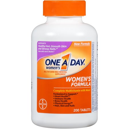 One A Day Women S Multivitamin Tablets 200 Count Walmart Com