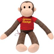 Schylling Curious George Sock Monkey 38e15afd4903