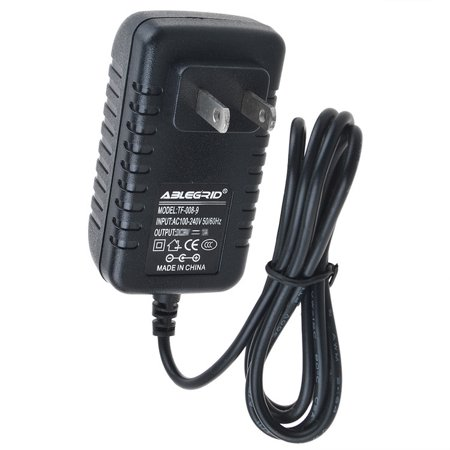Power Control Cable (ABLEGRID AC / DC Adapter For X-Rocker A9VCP Control Panel 10V Power Supply Cord Cable PS Wall Home Charger Input: 100 - 240 VAC 50/60Hz Worldwide Voltage Use Mains PSU)