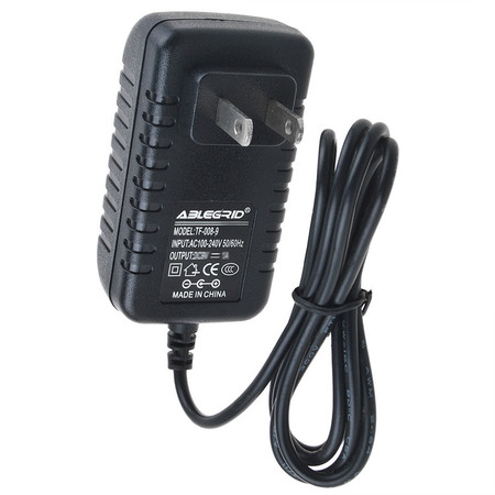 ABLEGRID AC / DC Adapter For Speco SPC-PSW5 12V 1000mA Power Supply Cord Cable PS Wall Home Charger Input: 100V - 120V AC - 240 VAC 50/60Hz Worldwide Voltage Use Mains PSU