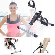 Foot Pedal Exerciser, Portable Bike Pedal Exerciser, Mini Cycle Pedal Exerciser, Folding Fitness Cycle Leg Machine With Digi tal LED Screen Display