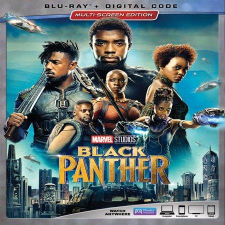 Black Panther (Blu-ray + Digital Code)