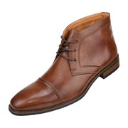 9874455c Amali Mens Smooth Cap Toe Oxford Lace-Up Dress Shoes and Ankle Boots  Available in