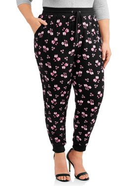 Women's Plus Size Super Soft Brushed Jogger