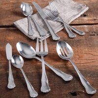 The Pioneer Woman Alex Marie 45-Piece Stainless Steel Flatware Set