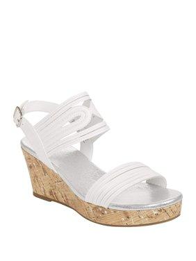 Wonder Nation Girls' Wedge Sandal