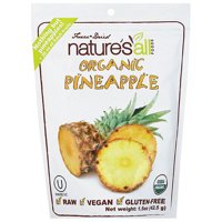 Natures All Foods Freeze & Dried Organic Pineapple, 1.5 Oz