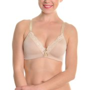 2acdbb6e6b Angelina Wire-Free Molded Cup Bras with Lace Trim (6-Pack)