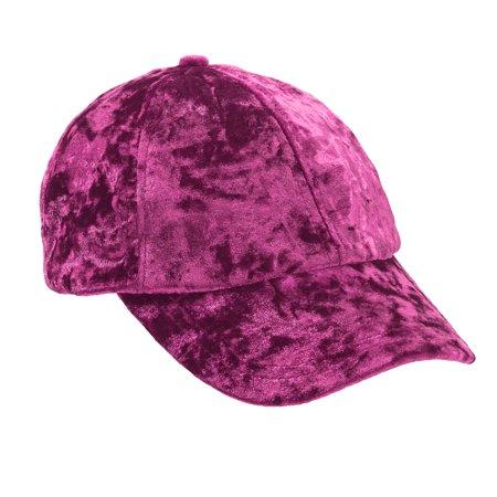 Women's Velvet Baseball Cap](Personalized Baseball Caps)
