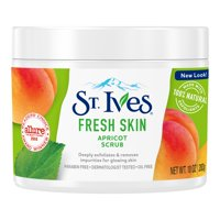 (2 pack) St. Ives Fresh Skin Face Scrub Apricot 10 oz