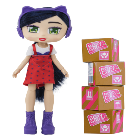 Boxy Girls Doll Riley - Bullseye Doll