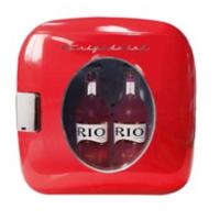 Frigidaire Portable Retro 12-Can Mini Fridge EFMIS462, Red