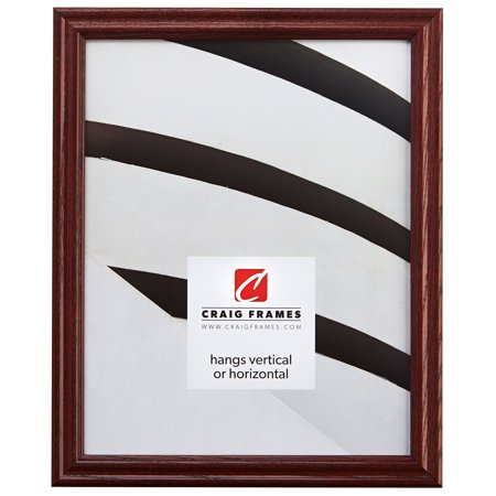 Craig Frames Wiltshire 200, Traditional Red Hardwood Picture Frame, 21 x 28 Inch