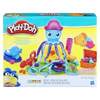 Play-Doh Cranky the Octopus Set with 5 Cans of Dough & 5+ Tools