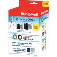 Honeywell True HEPA Filter Value Combo Pack, HRF-ARVP