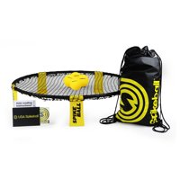 Spikeball 4 Ball Set. Includes playing net, 4 balls, drawstring bag and rule book