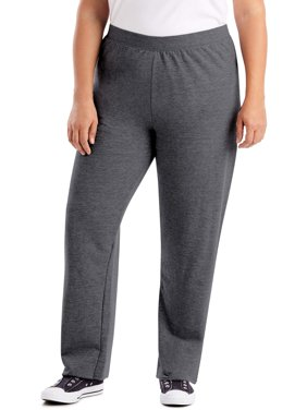 Women's Plus Size Fleece Sweatpants Regular and Petite Sizes
