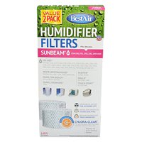 BestAir Humidifier Filter, Model H62, 2 Pack