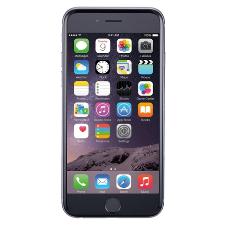 Refurbished Apple iPhone 6 64GB, Space Gray - Unlocked GSM (Refurbished Pda Cell Phones)
