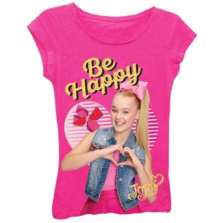 JoJo Siwa Glitter Graphic T-Shirt (Little Girls & Big