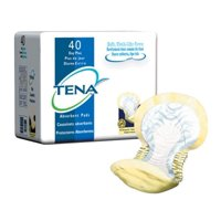 TENA Day Plus Pads, Heavy Absorbency, Yellow, Day Plus Pad Liners, 62618 - Case of 80