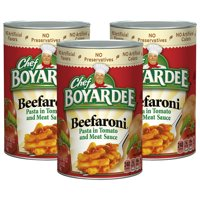 Chef Boyardee Beefaroni, 40 oz