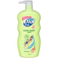 Dial Kids Body + Hair Wash, Watery Melon, 24 Ounce