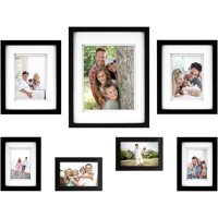 7-Piece Thin Gallery Wall Frame Set, Available in Multiple Colors