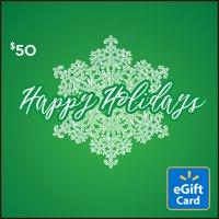 Snowflake $50 Walmart eGift Card
