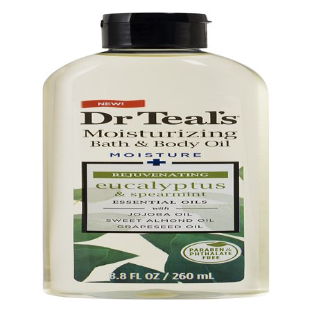 Dr. Teal's Relax & Relief with Eucalyptus & Spearmint Body Oil, 8.8 fl oz