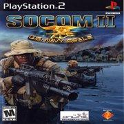 SOCOM II US Navy Seals - PS2 Playstation 2 (Refurbished)