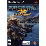 SOCOM II US Navy Seals - PS2 Playstation 2 (Refurbished)