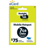Straight Talk Broadband 7GB $75 (Email Delivery)