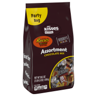 Hershey, Chocolate Candy Assortment Party Bag, 38.5 Oz
