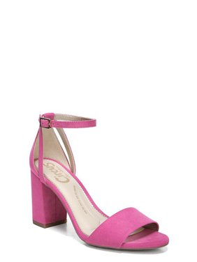 Women's Circus by Sam Edelman Oleana Ankle Strap Block Heels