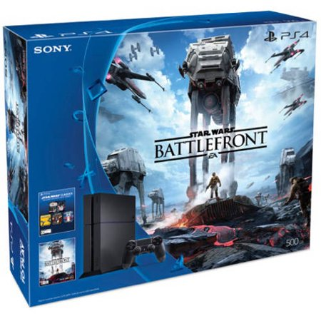 Refurbished Sony 3001356 PS4 Star Wars: Battlefront Standard Edition 500GB Console (Gameboy Advance Sp Nes Edition For Sale)
