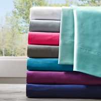 Comfort Classics Solid Microfiber Ultra Soft Wrinkle Free Sheet Set
