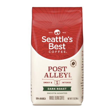 Seattle's Best Coffee Signature Blend No. 5 Dark Roast Whole Bean Coffee, 12-Ounce (Best Bean To Cup)