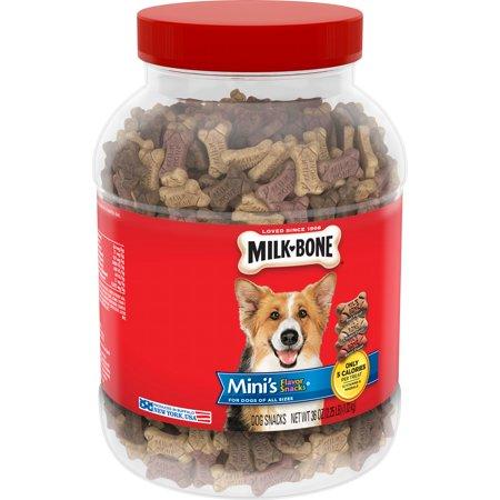 Milk-Bone Mini's Flavor Snacks Dog Biscuits, 36-Ounce