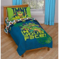 Nickelodeon Teenage Mutant Ninja Turtles 4-Piece Toddler Bedding Set