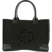 d4f93a430f7a3 Tory Burch Women s Ella Mini Nylon Top-Handle Bag Tote - Black Black