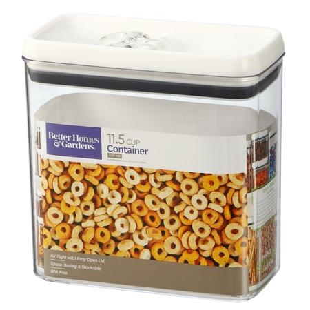 Better Homes & Gardens Flip-Tite Rectangular Container, 11.5 Cups