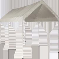 Shelterlogic MaxAP Carport Canopy, 10' x 20', White