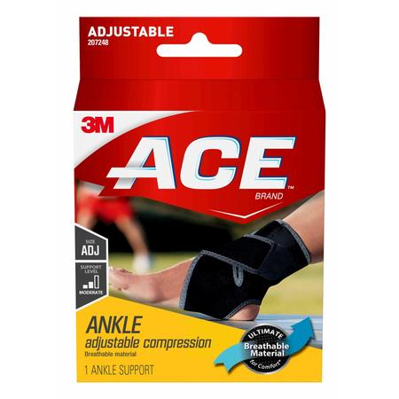 ACE Ankle Support, Adjustable (Best Ankle Support Brace)