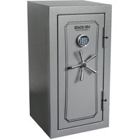 Executive with Elec. Lock, Fire Rated 90 Min/1400 Degrees, Gray Pebble
