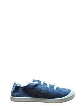 Wonder Nation Girls' Bump Toe Casual Sneaker