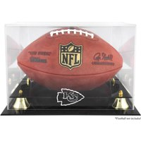 Mounted Memories NFL Classic Football Logo Display Case