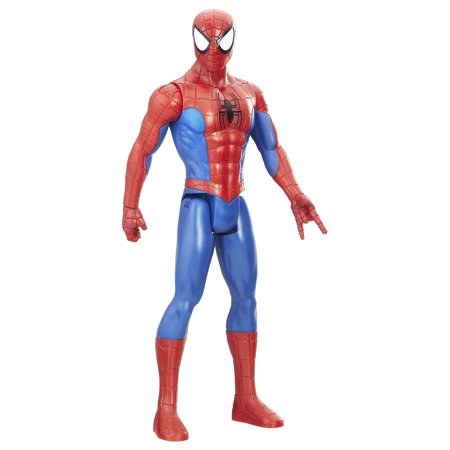 Spider-Man Titan Hero Series Spider-Man Figure - Spider Man Chuck Taylors