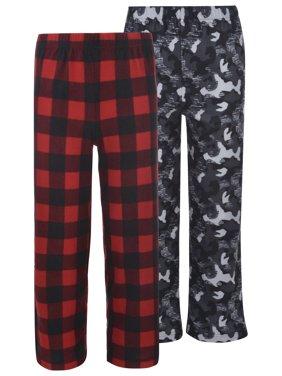 Micro Fleece Sleep Pants Value 2 Pack (Little Boy & Big Boy)