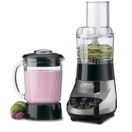 Cuisinart Smartpower Duet /Food Processor 7 Speed Blender Brushed Chrome (BFP-703BC)